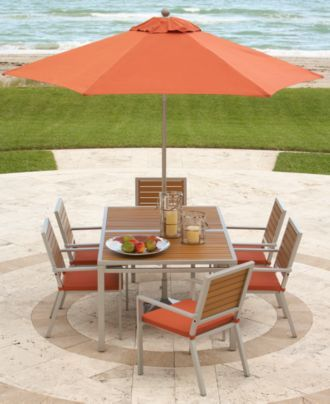 Key Largo Outdoor Patio Furniture Dining Sets U0026 Pieces   Outdoor U0026 Patio  Collections   Furniture
