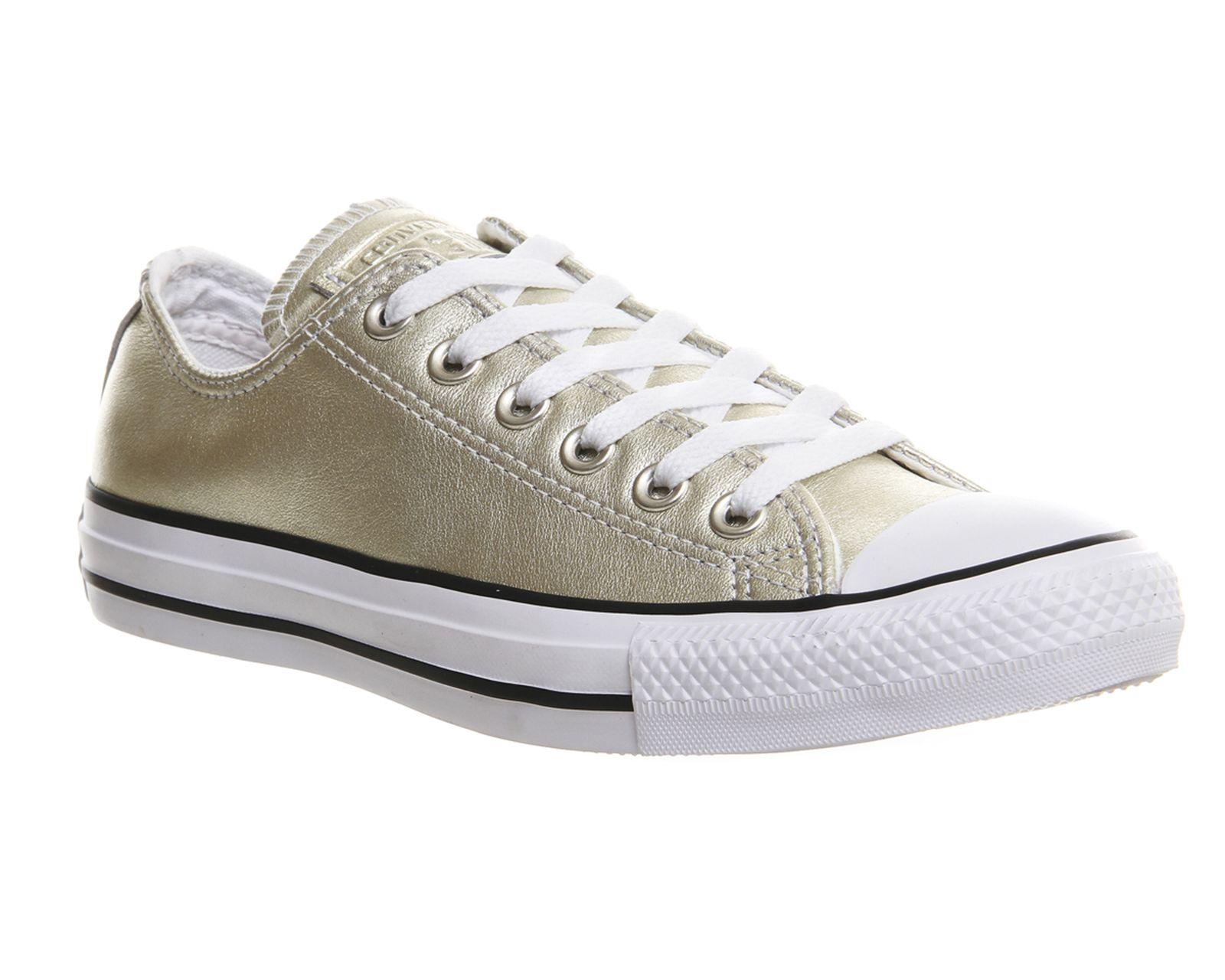 Converse All Star Low Leather New Gold Exclusive - Unisex Sportschuhe