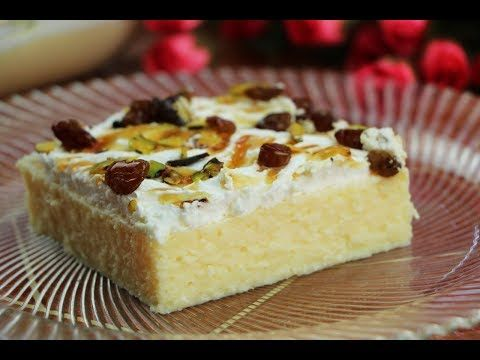 كيكة جوز الهند الباردة حلويات سهلة وسريعة بدون فرن حلى الجوز الهند البارد مع رباح الحلقة 519 Youtube Cold Desserts Tart Recipes Desserts