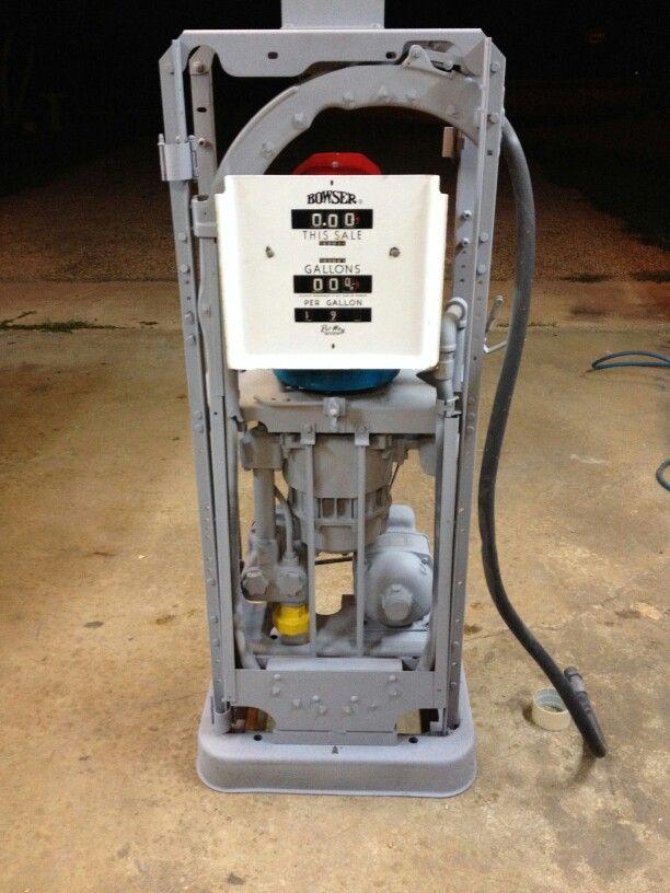 My Bowser 585 gas pump project | gas | Gas pumps, Bowser, Diesel