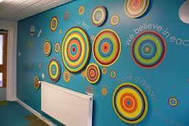 School corridor displays google search teaching: bulletin boards
