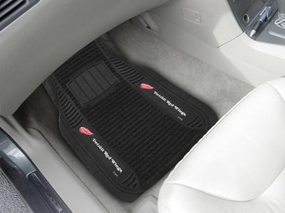 2 Pack Fanmats Detroit Red Wings Automotive Floor Mat