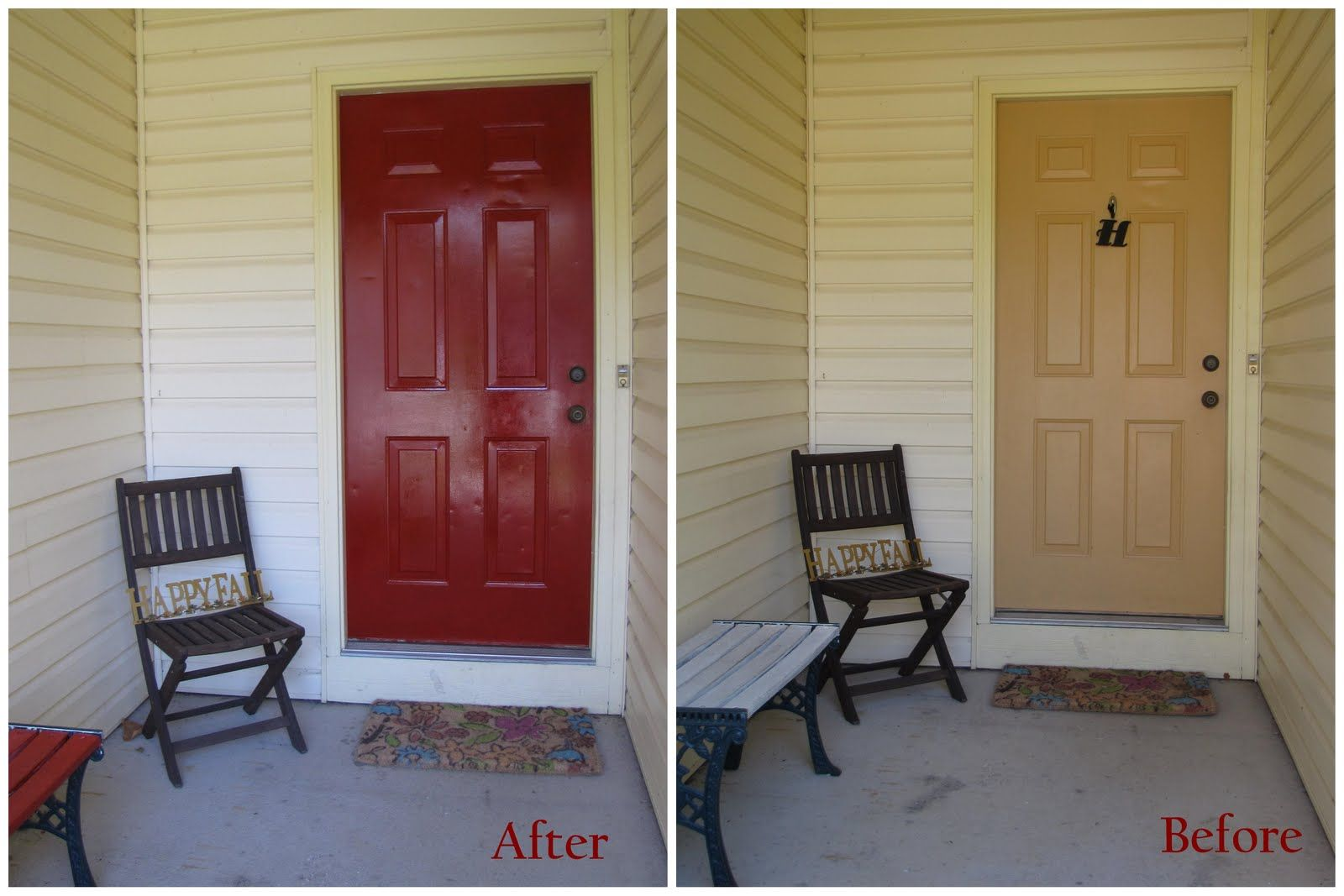 Painted Front Door