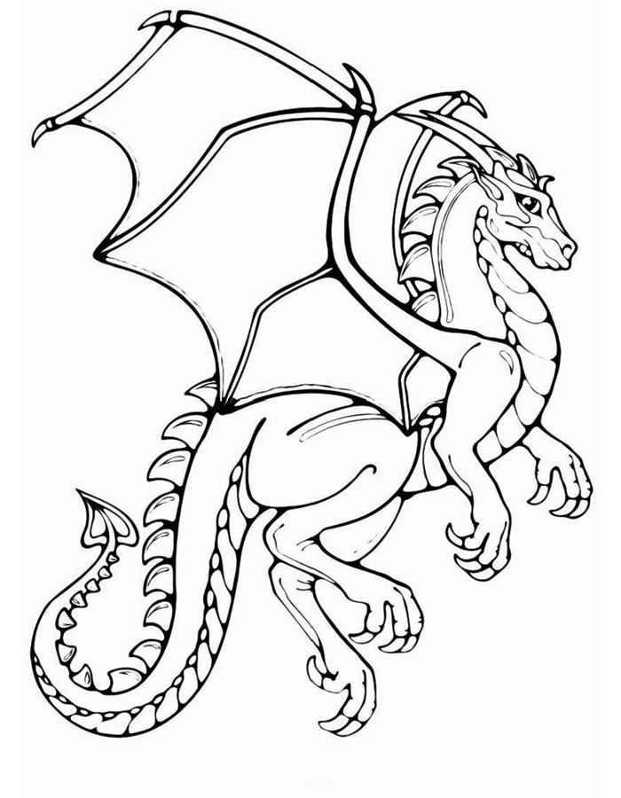 Картинки по запросу рыцарь и дракон   Раскраски, Рисунки ...