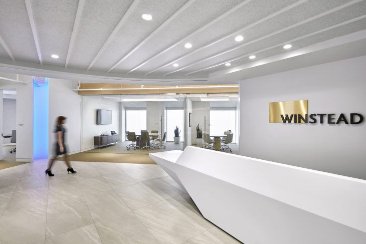 A Houston Law Firm Balances Functionality with a Sense of Modernity