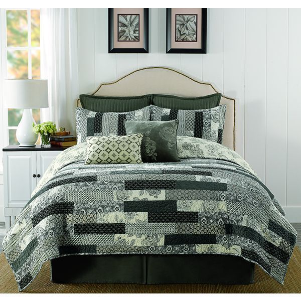 Eleora Velvet Twin-size Quilt | Products | Pinterest | Cotton ... : twin size quilts and coverlets - Adamdwight.com