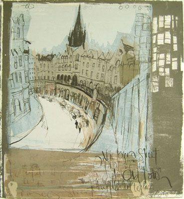 Kelly Stewart old town Edinburgh...