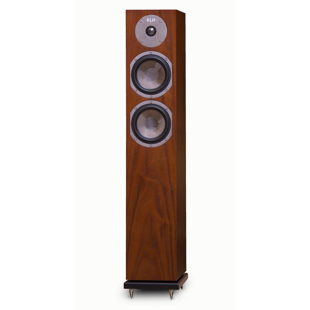Klh Cambridge 2 Way Floorstanding Speaker Each Walnut Brown Loudspeaker Bottle Opener Wall Walnut Veneer