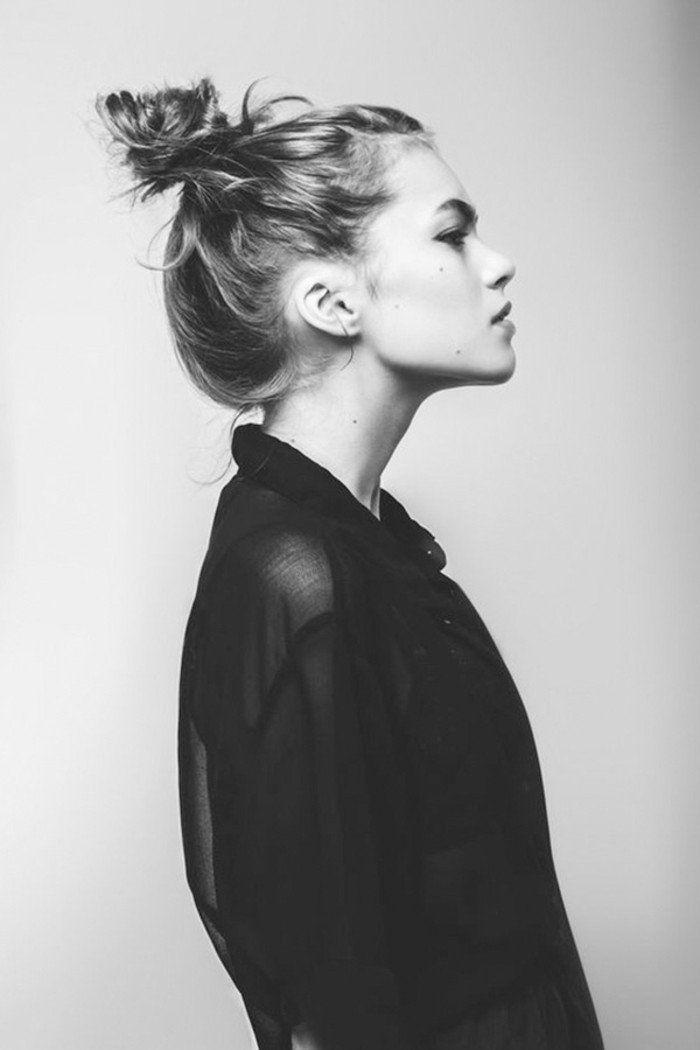 le chignon coiff d coiff 67 photos qui vont vous inspirer trucs pinterest. Black Bedroom Furniture Sets. Home Design Ideas