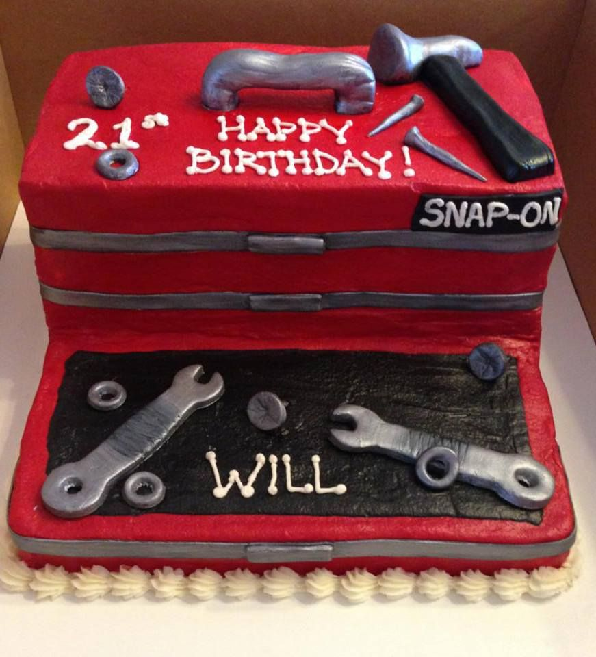 Will S Snap On Tool Box Cake Cakes For Men Creative Cake