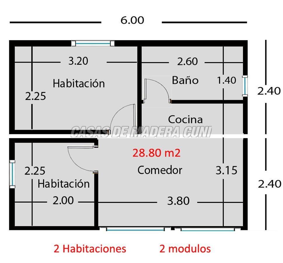 Necesarias de los planos de las mini casas peque as bien distribuidas los precios de las Mini casas planos