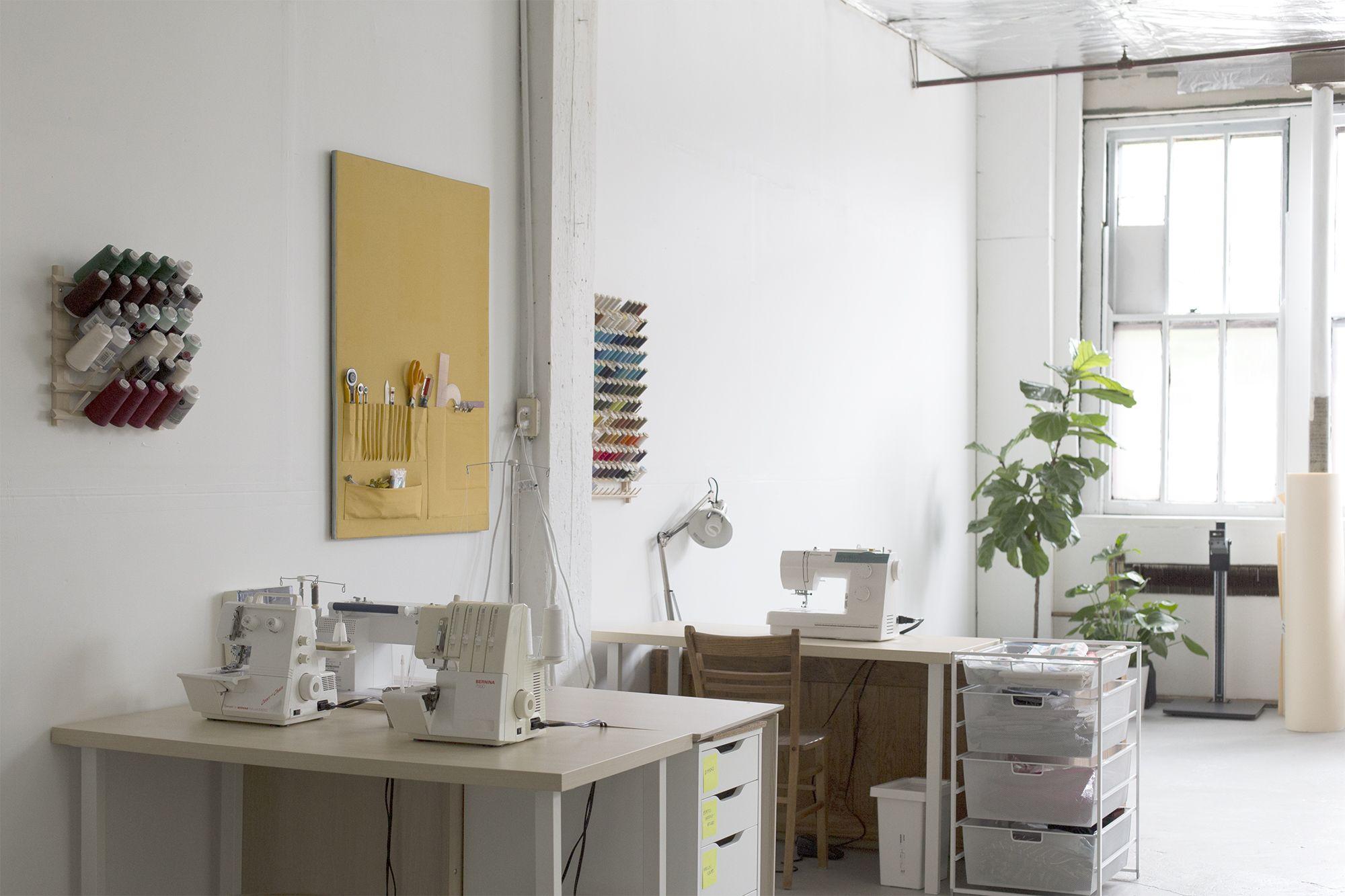 New Studio Workspace | Grainline Studio