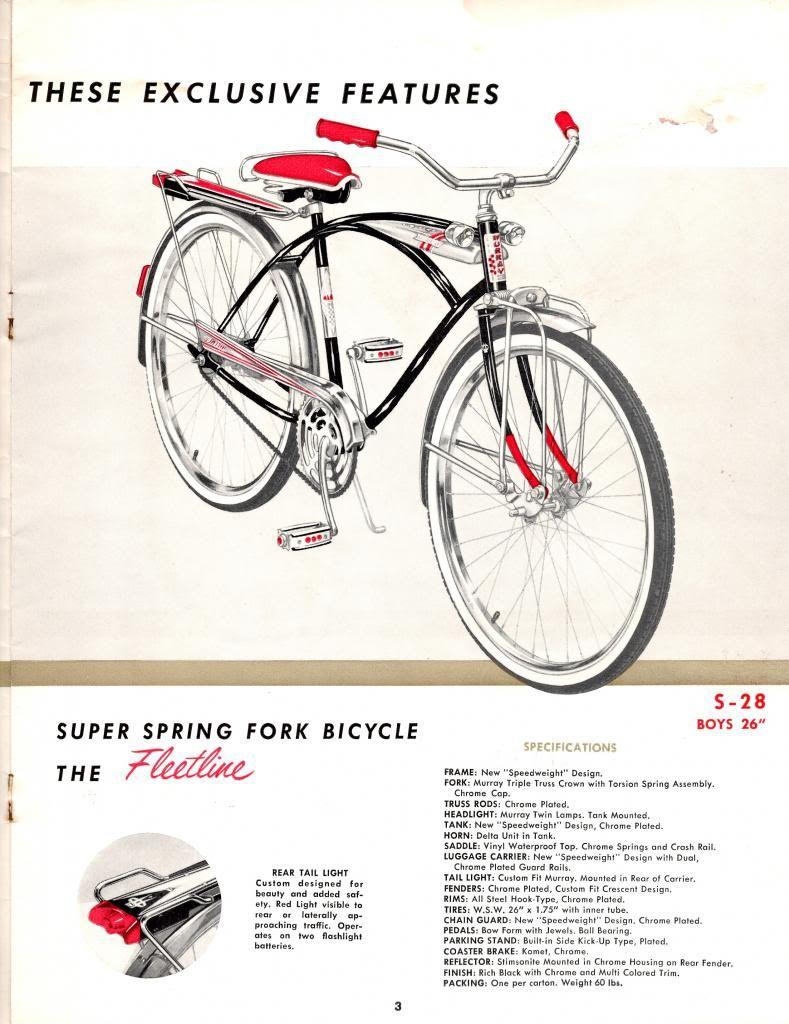 cmusclebike 1960 Murray Bicycles catalog | Bike ride