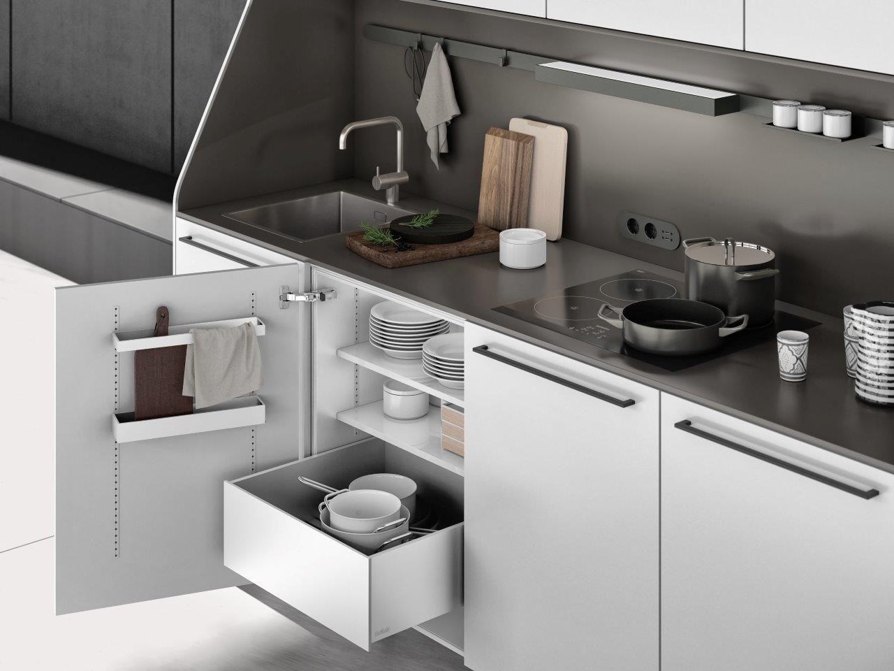 Multimatic Aluminium From Siematic Keuken Ontwerpen Ikea Keukenkasten Keuken Kookeiland