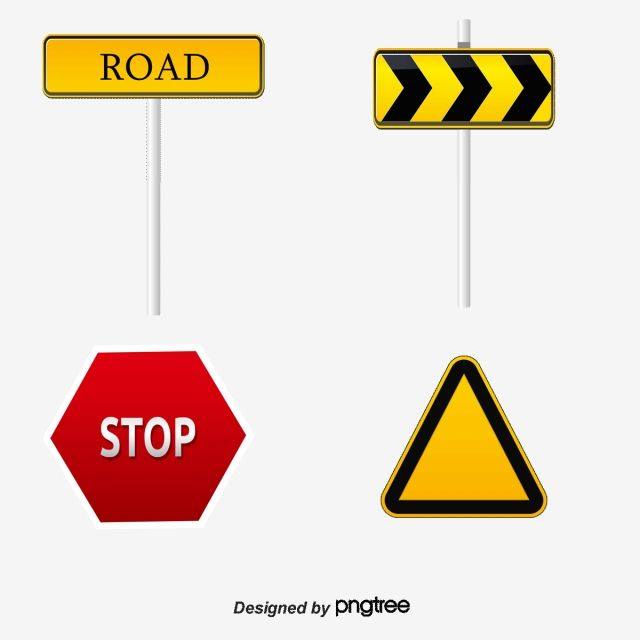 Traffic Signs Vector And Png Traffic Signs Traffic Warning Signs Traffic