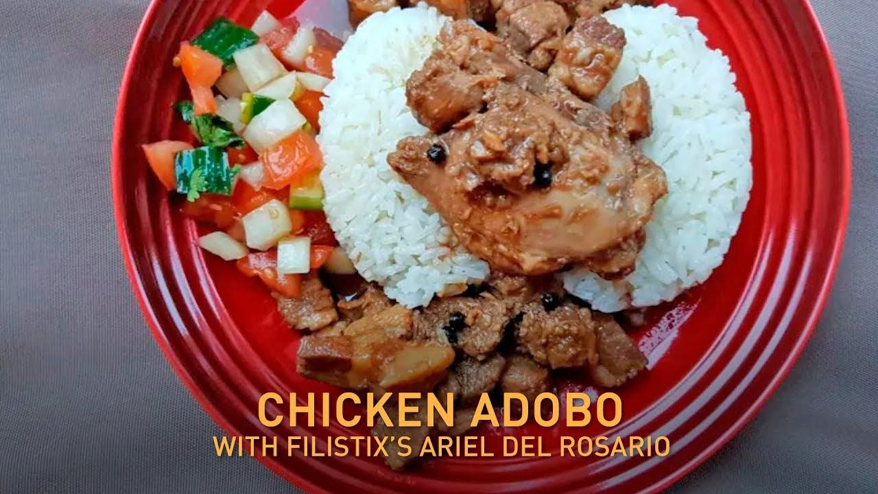 how to make instant pot filipino chicken and pork adobo fast food youtube food pork adobo food spot pinterest