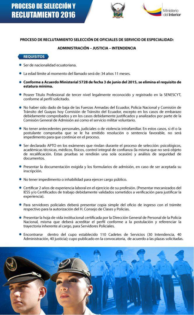 Ministerio del interior policia pinterest policia for Web ministerio del interior