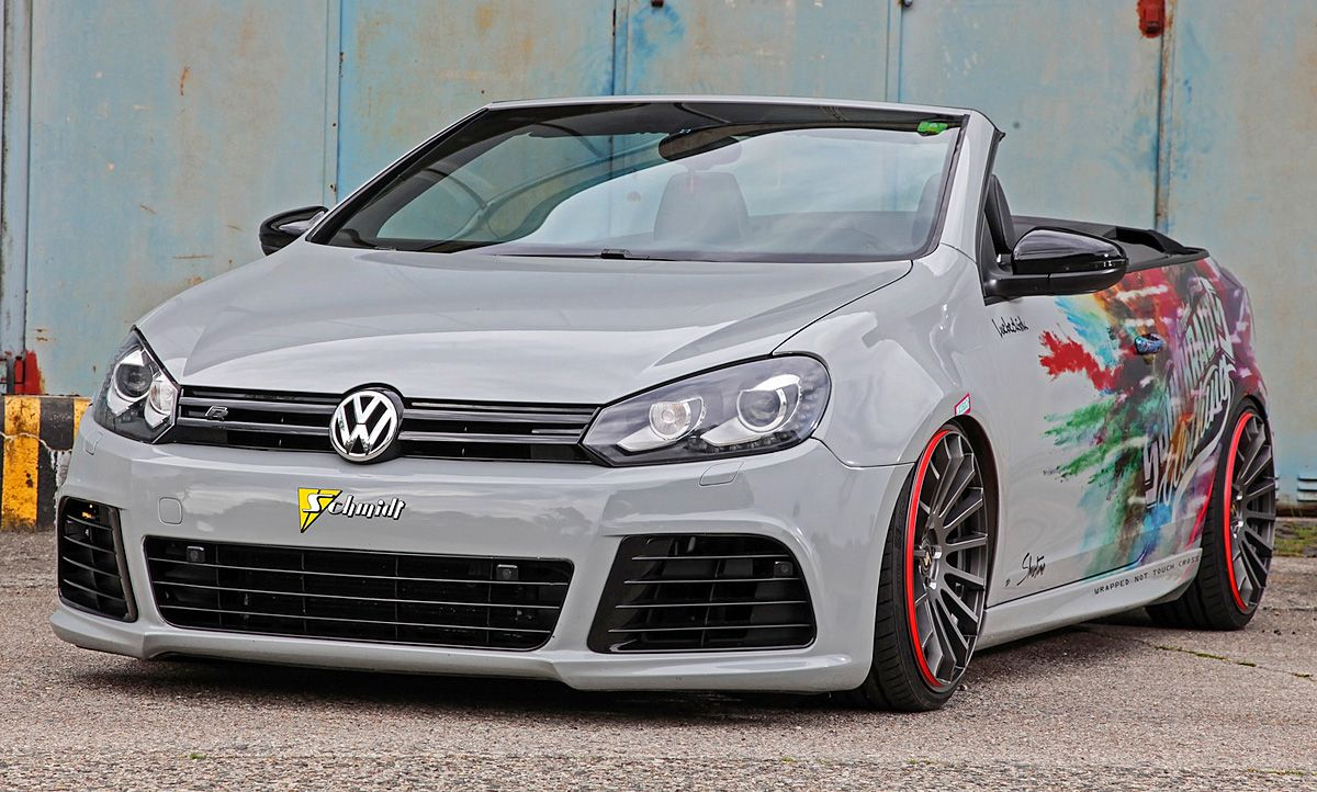 vw golf vi cabrio tuning von schmidt all things. Black Bedroom Furniture Sets. Home Design Ideas