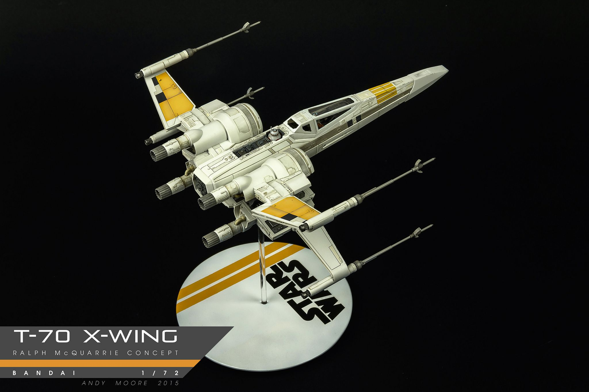 Good Https://flic.kr/p/BVFi8G   Bandai T 70 Ralph McQuarrie Scheme   The T 70 X  Wing From The Force Awakens Painted In Colours From The Ralph McQuarrie  Concept ...