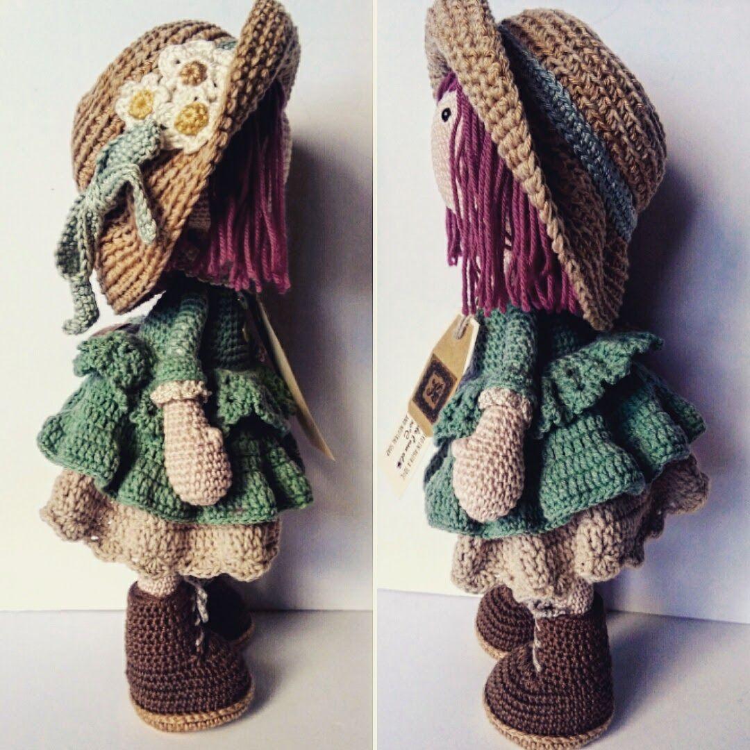 Pin de Sonia Zerpa en Tejido | Pinterest | Muñecas, Ganchillo y ...