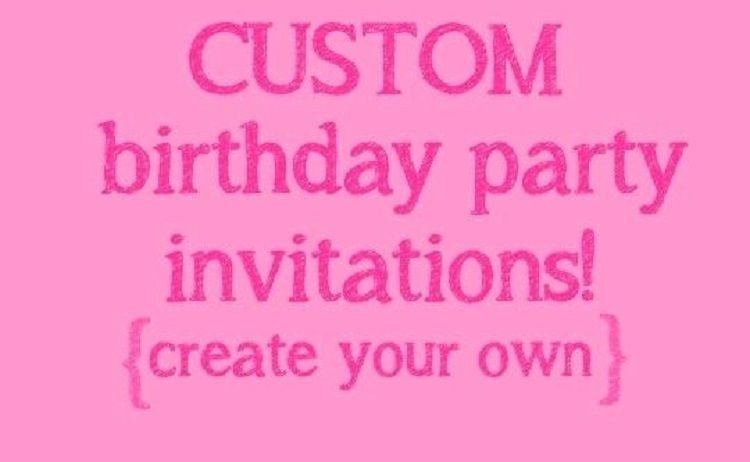 Make Your Own Unicorn Birthday Invitation