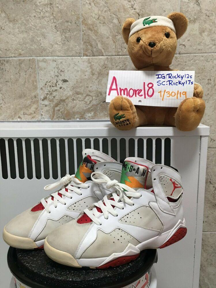 competitive price ecf68 48e4f Nike Air Jordan 7 Retro 2008 CDP 9.5 Countdown Pack Hare ...