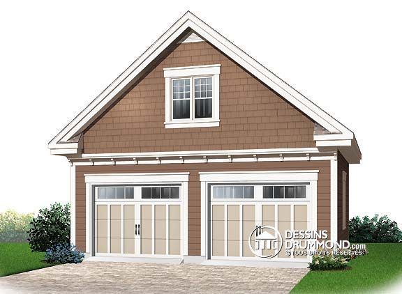 Magnifique garage double de style champ tre no 298928 – Detached Garage Plans With Loft