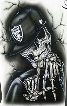 Raiders Skull Tattoo : raiders, skull, tattoo, Skull, Pictures,, Graffiti, Drawing