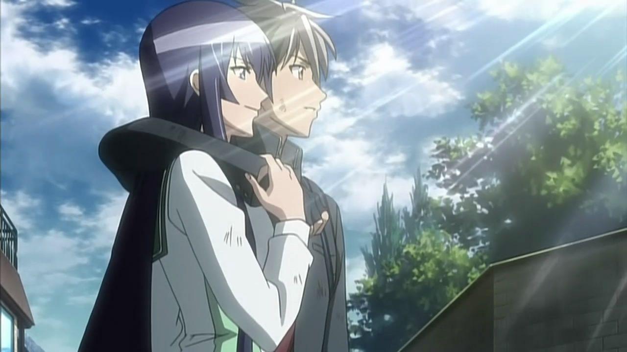 Highschool of the Dead :: Saeko & Takashi | Highschool of ...