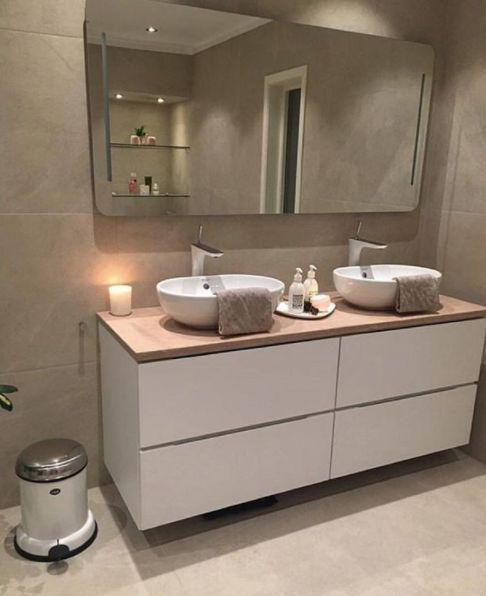 Photo of 15 schöne Badezimmer mit Regendusche – Dekorations Design – salledebainc