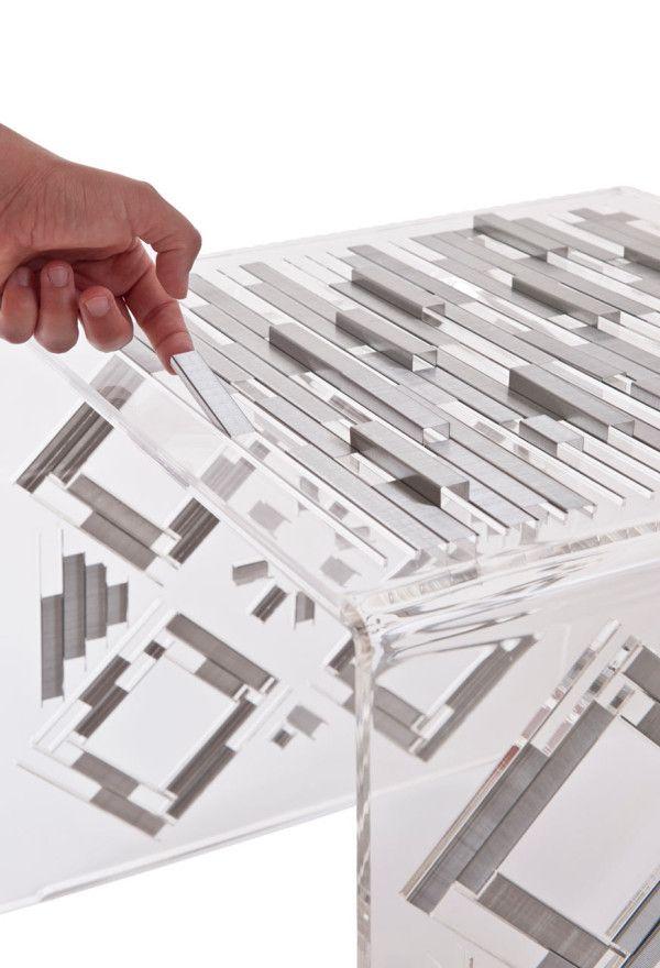 Wohnzimmer Möbel Beistelltisch Design Kreten