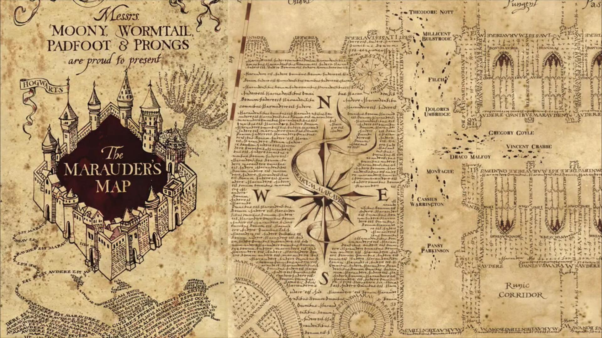 Harry Potter Karte Des Rumtreibers Spruch.Bildergebnis Für Karte Des Rumtreibers Kalender Harry Potter