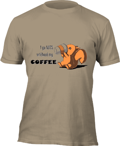 tboom - Nuts for Coffee (Khaki) for Unicef