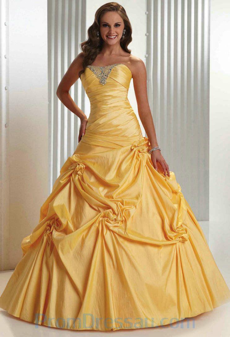 Yellow evening dress google search belle like dress pinterest