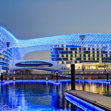 Aldar To Build Free Zone For Twofour54 On Yas Island Yas Hotel Unique Buildings Amazing Buildings