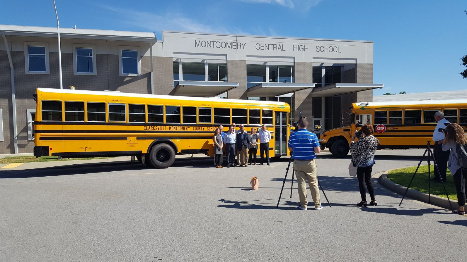 Clarksville-Montgomery County Schools is now the largest alt-fuel fleet in  Tennessee!