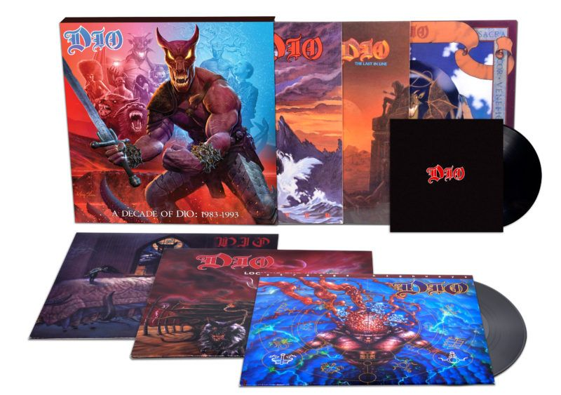 A Decade Of Dio: 1983-1993 Boxed Set Available for Pre-Orders Now – Xeonlive –…