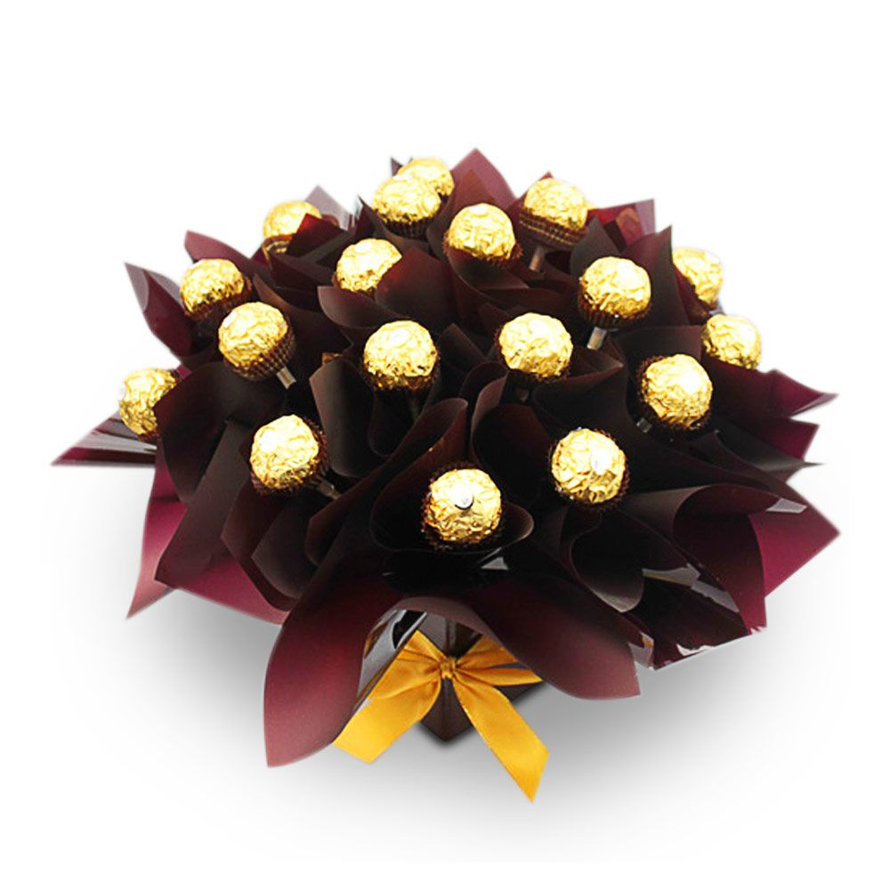 Ferrero Heaven Deluxe    Ferrero Heaven Deluxe is another favorite consisting of 30 Ferrero Rocher chocolates arranged in a simple and elegant box.
