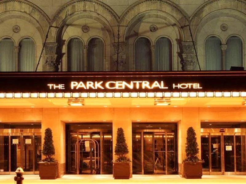 New York Ny Park Central Hotel United States North America