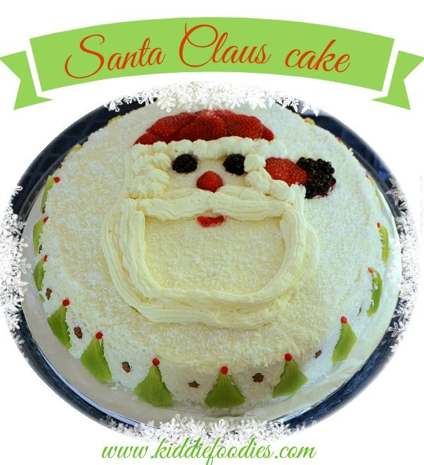 Christmas Cake Decoration Santa : Santa Claus cake - Christmas cake decoration ideas ...