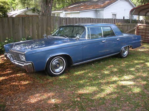 1965 Chrysler Imperial Lebaron 4 Door Hardtop With Images