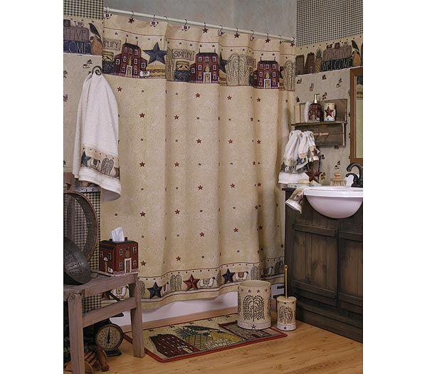 Frost Vinyl Shower Curtain Liner 70 W X 72 L Primitive