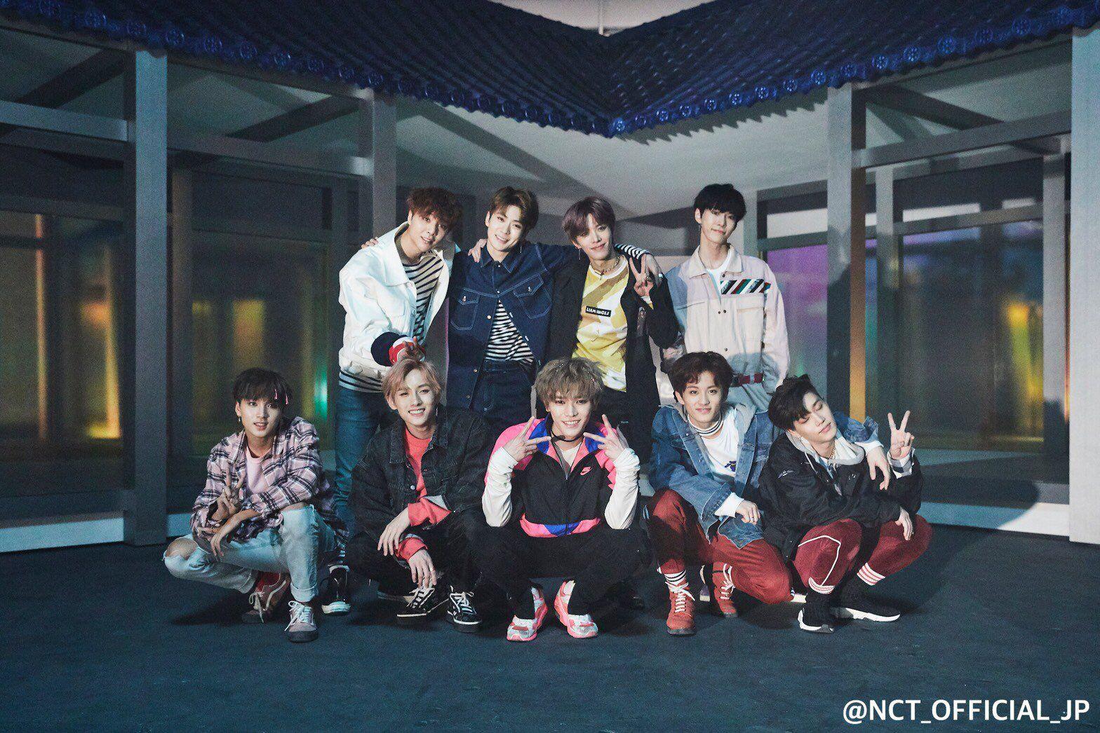NCT 127 'Chain' — Group Shot #LeeTaeyong #KimDoyoung # ...