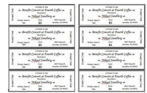 Event Ticket Templates 1 Ticket Template Free Ticket Template Concert Ticket Template - ms word ticket template