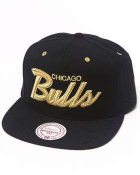 Love this Chicago Bulls Black   Gold Snapback hat by Mitc... on DrJays.  Take a look and get 20% off your next order! 1d71a3cf264d