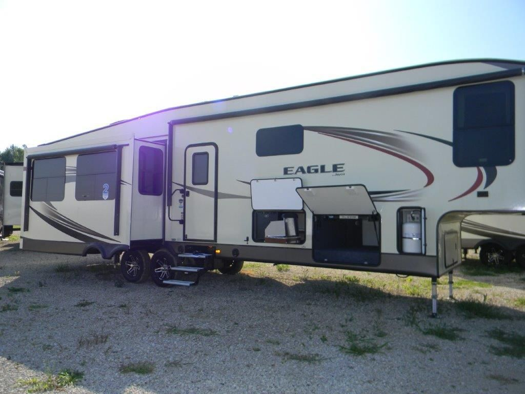 The new 2017 jayco eagle travel trailer you re looking for is at tradewinds rv center