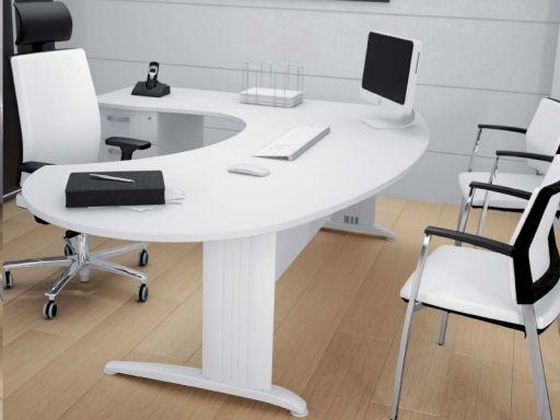 Bureau de direction core compact xl avec caisson bureaux de