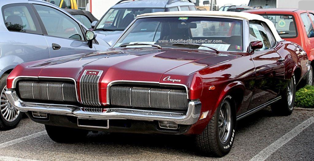 Modified Mercury Cougar XR/7 1970 2-door convertible (1st ...