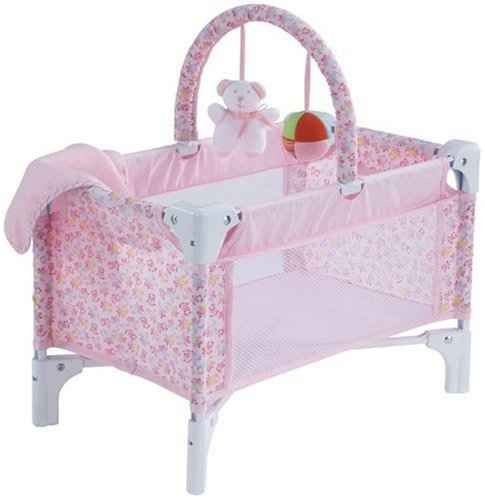 Adorable Baby Doll Crib! #dollaccessories