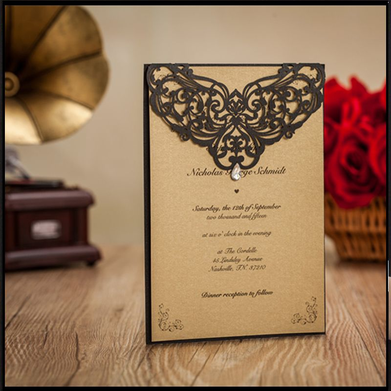 Butterfly Custom-made Personalized Business Invitation Card - business invitation letter format